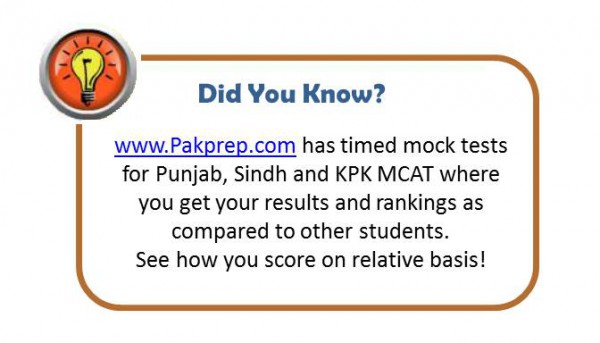 Number of Punjab MCAT MBBS Seats in the Public Sector