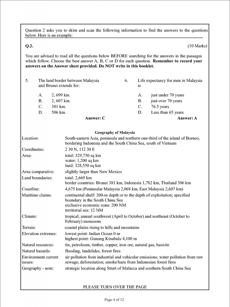 Aga Khan University (AKU) Sample Entry Test Paper 2015 | Pakprep Blogs