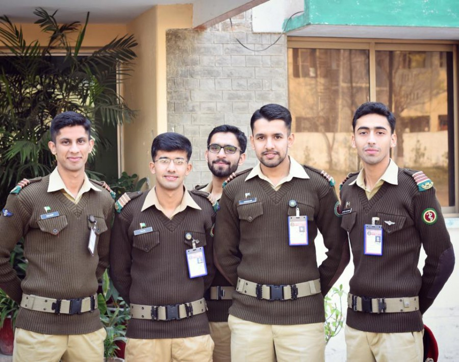 Cadets Of Army Medical College pakarmy