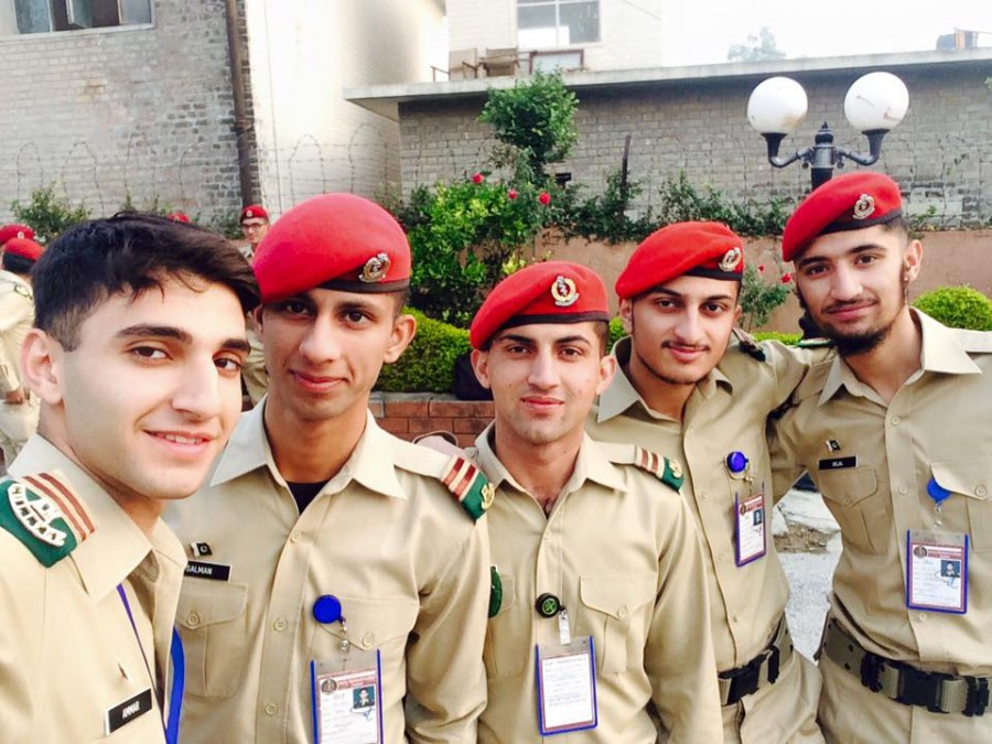 Male Cadet Of Army Medical College pakarmy